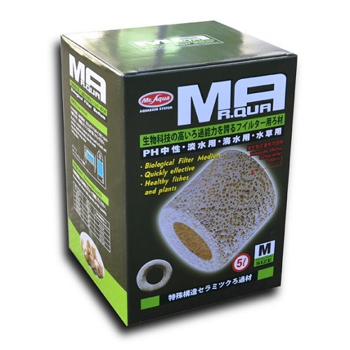 Mr Aqua Porous Ceramic Rings (5Litre, MEDIUM)