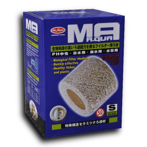 Mr Aqua Porous Ceramic Rings (5Litre, SMALL)