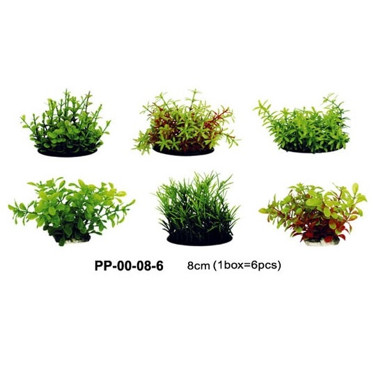 Up Aqua Imitation Plants (S) 6 Pack