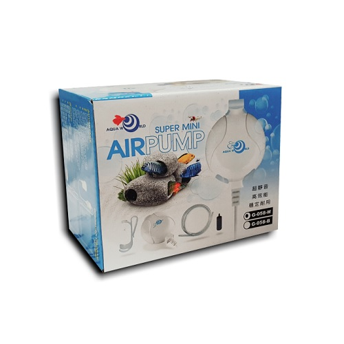 Aqua World Mini Air Pump (White)