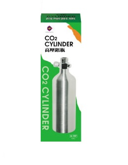 UP Aqua Re-Fillable CO2 Cylinder (0.6Litre) TOP MOUNT