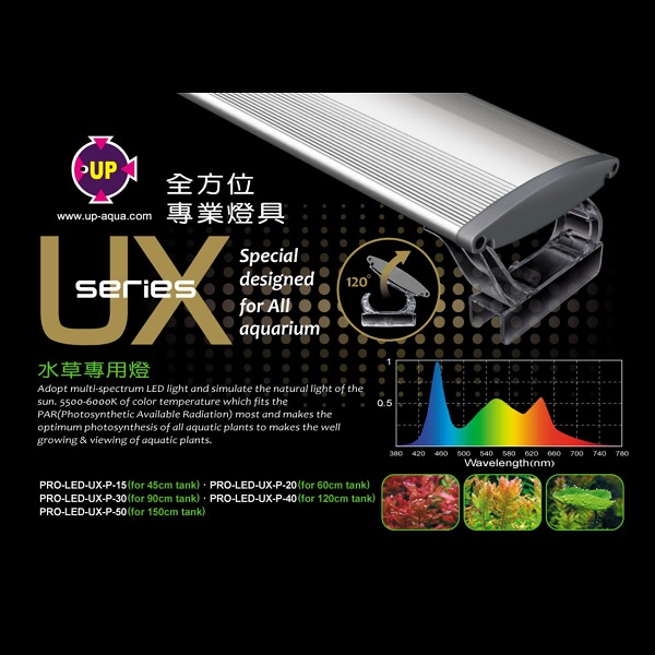 UP Aqua U Series Planted LED Light (2FT)